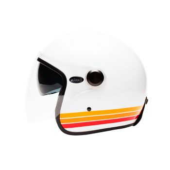 """Marko bandas BOREAL casco blanco naranja """""""
