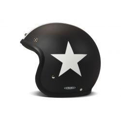 CASQUE JET VINTAGE STAR BLACK - DMD