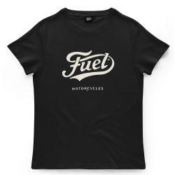 T-SHIRT BLACK - FUEL