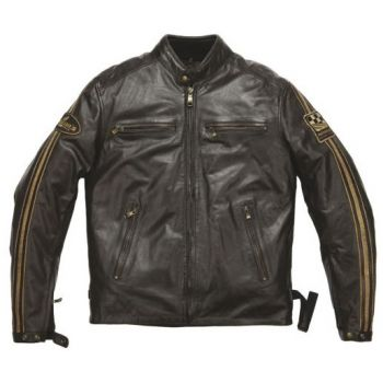 Helstons - ACE Leather Rag Brown