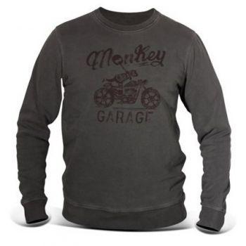 Sweat-Shirt DMD MONKEY GREY
