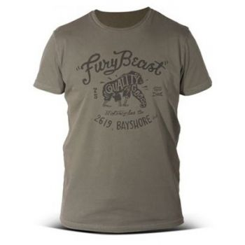 T-shirt DMD FURY BEAST MILITARY GREEN - NEW 2016