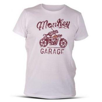 Shirt DMD MONKEY WEISS - NEU 2016