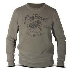 Sweat-Shirt FURY DMD BEAST MILITÄR GRÜN - NEU 2016