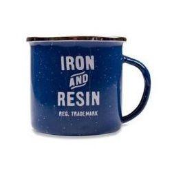 Mug camp Iron and Resin BLEU