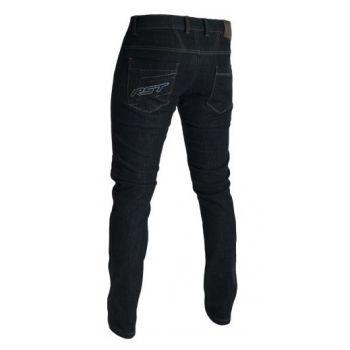 Pantalones de tejido de aramida RST CE era la pierna estirada hombre negro