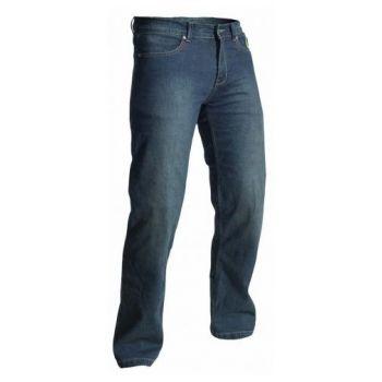 tela de los pantalones de la vendimia II RST aramida era hombre de color azul oscuro