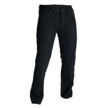 tela de los pantalones de la vendimia II RST aramida era hombre negro