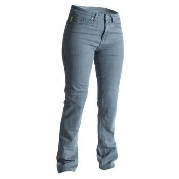 Pantalones de tela RST señoras flaco Fit aramida era la mujer gris