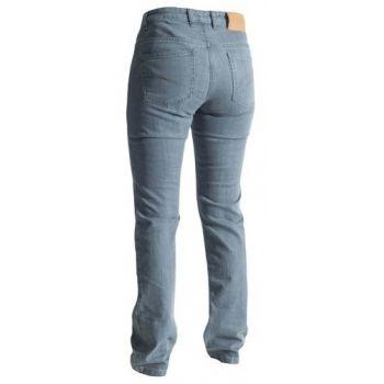 Señoras RST pantalones Material de aramida recta era la mujer gris