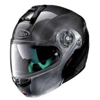 X1004 Ultra-Carbon-Helmet Dyad Verkratzte n-Com X-LITE