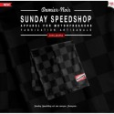 Domingo speedshop CHEQUERED BUFANDA