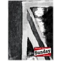 SCARF SUNDAY SPEEDSHOP UNION BLACK