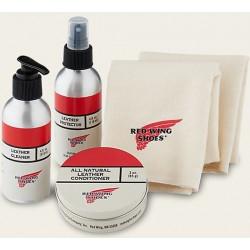 Manutenção Box Couro Redwing - Kit Oil Tanned Cuidados Couro