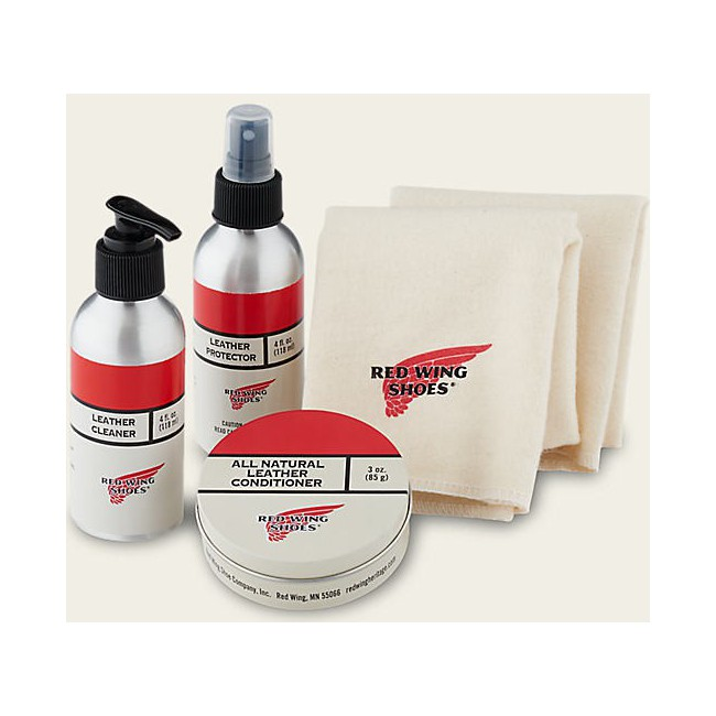 Coffret d'entretien Cuir REDWING - Oil Tanned Leather Care Kit