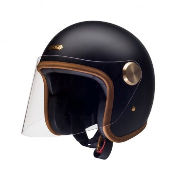 Casque jet hedon epicurist Stable Black