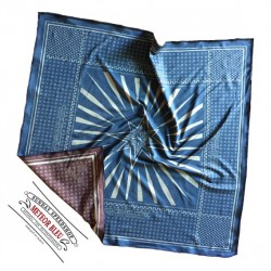 Foulard Sunday Speedshop METEOR BLEU
