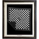 Lenço domingo Speedshop ACE CHECKERED Black & White