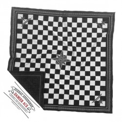 Lenço domingo Speedshop ACE CHECKERED Black & White