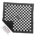 Schal Sonntag Speed ??ACE CHEQUERED Black & White