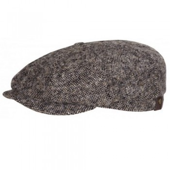 Newsboy Cap Stetson Hatteras DONEGAL - Brown