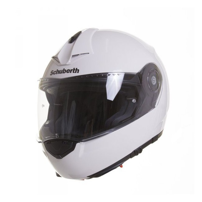 schuberth c3 pro white modular motorcycle helmet schuberth. Black Bedroom Furniture Sets. Home Design Ideas