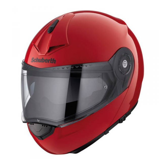 schuberth c3 pro rouge casque moto modulable schuberth. Black Bedroom Furniture Sets. Home Design Ideas