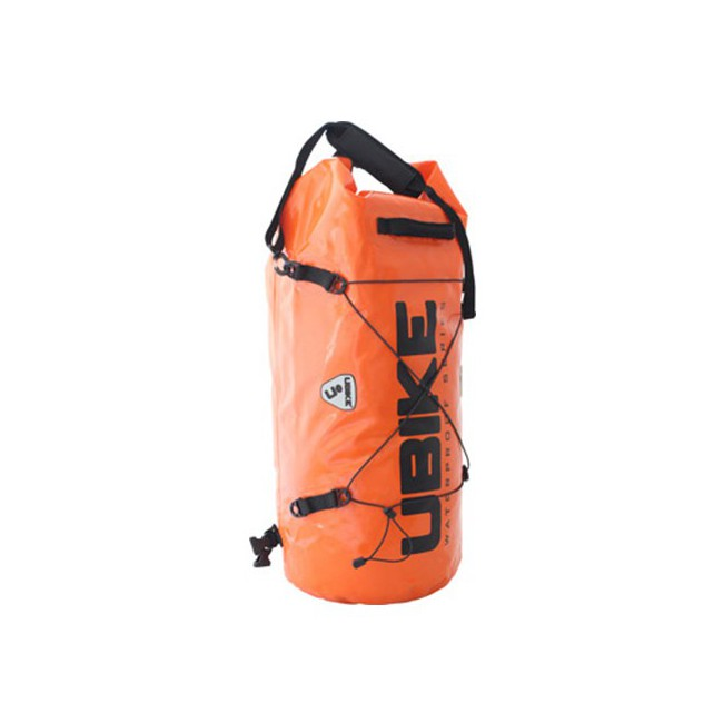 SAC ETANCHE ORANGE CYLINDER BAG 30L UBIKE