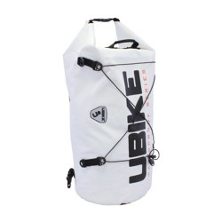WATERPROOF BAG WHITE CYLINDER BAG 50L UBIKE