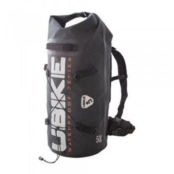 WATERPROOF BAG 50L BLACK CYLINDER BAG UBIKE