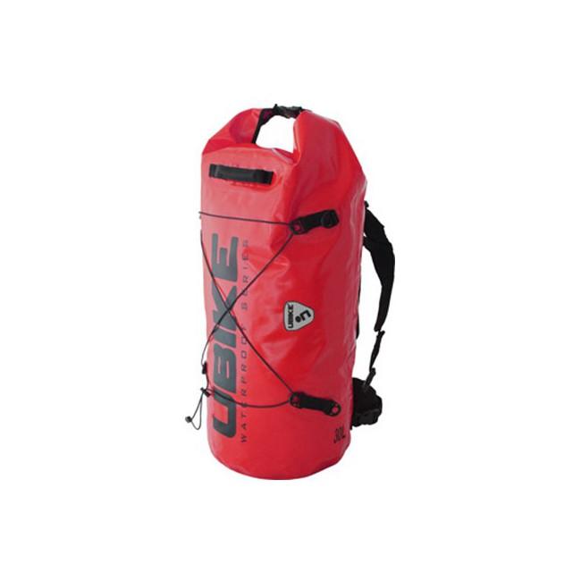WATERPROOF BAG RED BAG 30L CYLINDER UBIKE