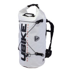 WATERPROOF BAG WHITE CYLINDER BAG 30L UBIKE