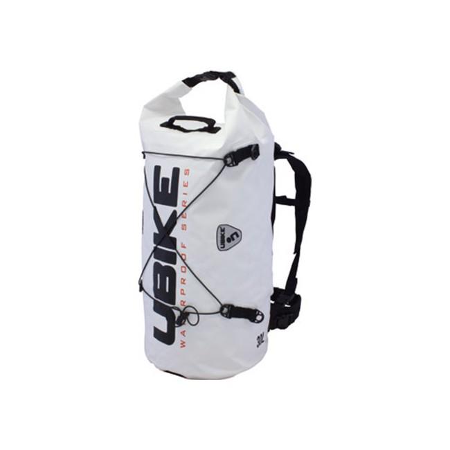 Saco impermeável, Branco, Cilindro BAG 30L UBIKE