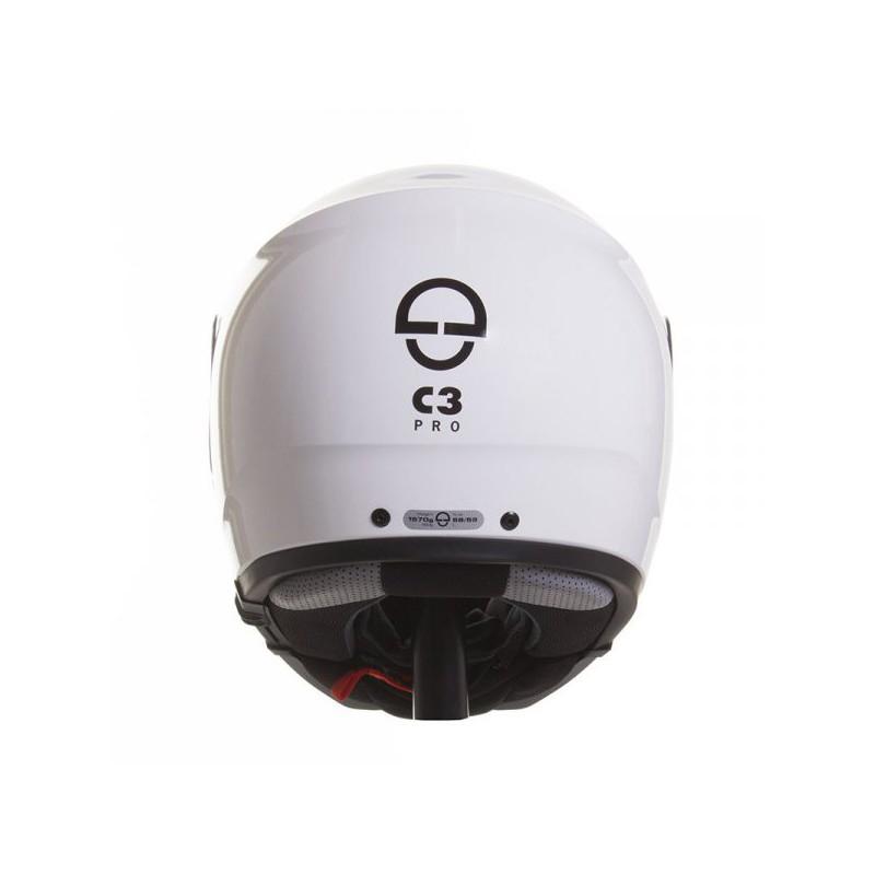 schuberth c3 pro blanc casque moto modulable schuberth. Black Bedroom Furniture Sets. Home Design Ideas