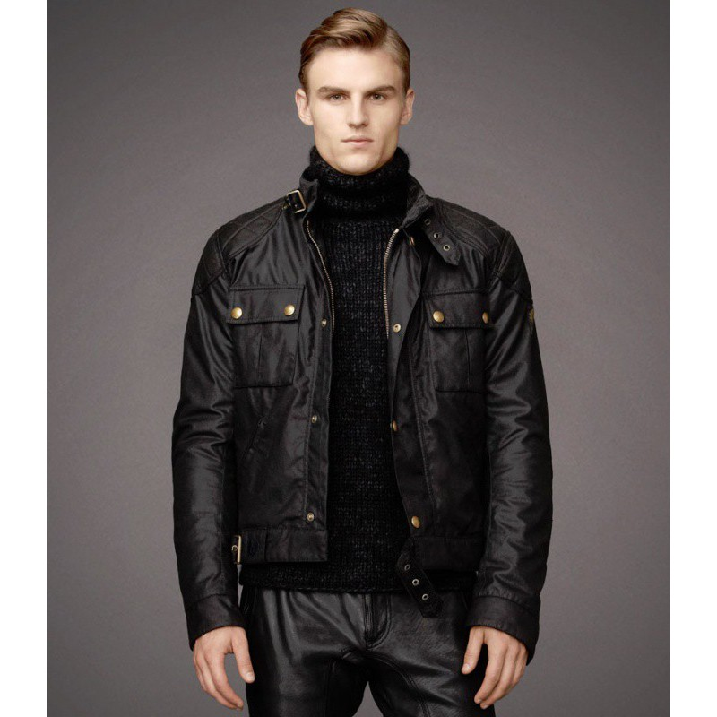 BELSTAFF giacca Brooklands giacca moto moto NEW R7FwFqzx
