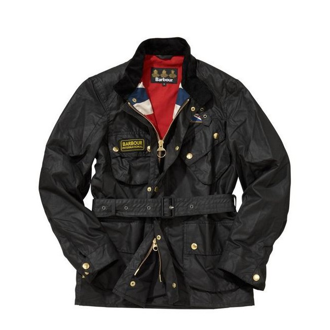 buy popular b9101 6902b Giacca Barbour Union Jack internazionale