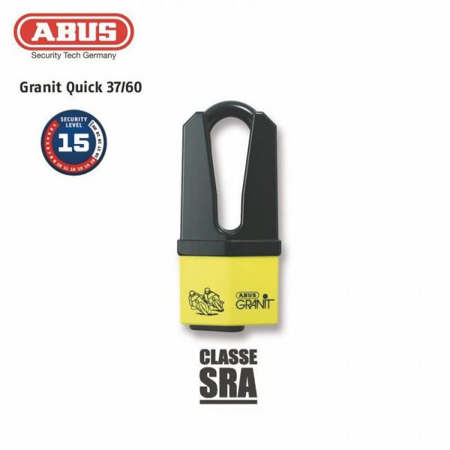 Diebstahl Stops Scheiben ABUS 37 / 60HB70 Yellow