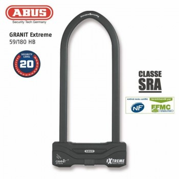Antitheft U ABUS 59 / 180HB260 SRA / NF