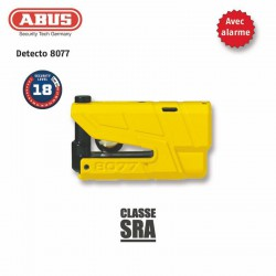 Theft Stops disc 8077 ABUS Granit Detecto X-Plus yellow