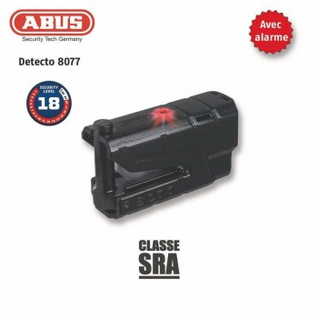 Theft Stops disc 8077 ABUS Granit Detecto X-Plus black
