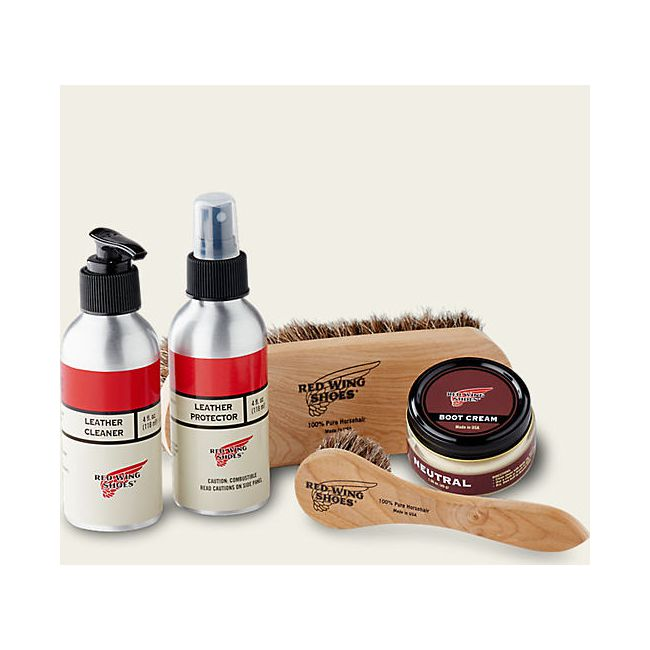 Coffret d'entretien Cuir REDWING - Smooth-finished Leather Care Kit