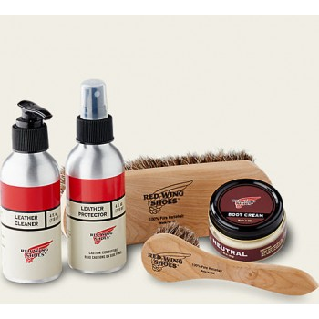 Maintenance Box Leather REDWING - Smooth-finished Leather Care Kit