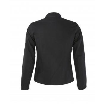 chaqueta de cuero Vstreet Emma textiles