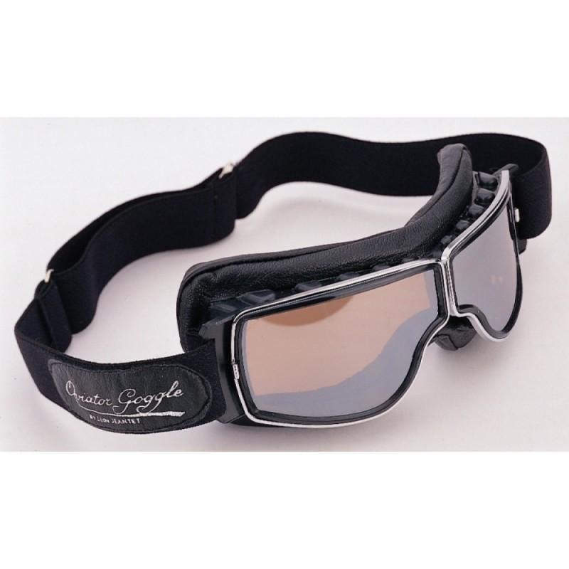 lunettes aviator goggle t1 lunette casque moto vintage l on jeantet. Black Bedroom Furniture Sets. Home Design Ideas