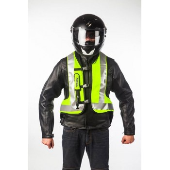 Airbag colete Helite Airnest Hi.Vis tartaruga