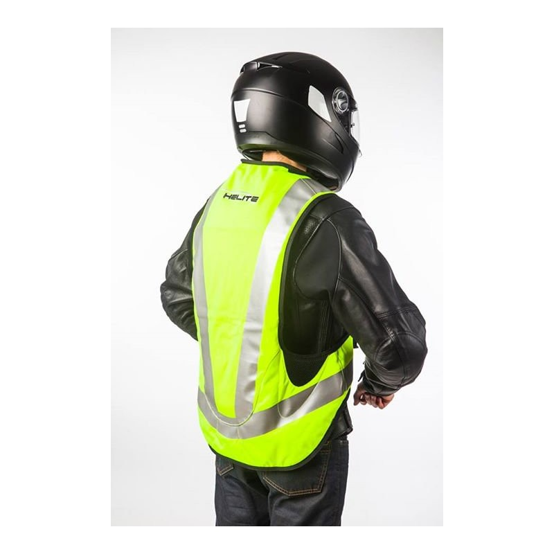 gilet airbag moto helite airnest turtle fluo high visibility. Black Bedroom Furniture Sets. Home Design Ideas