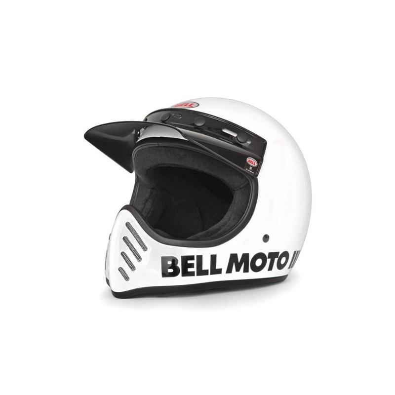 Bell Moto 3 Motorbike Helmet Motorcycle Cross Vintage Bell 3