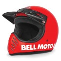 CASQUE BELL MOTO 3 rouge