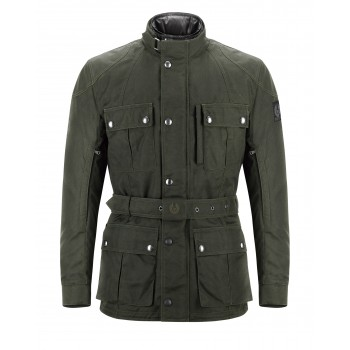JACKET BELSTAFF NEW WAX Snaefell CORDURA MILITARY