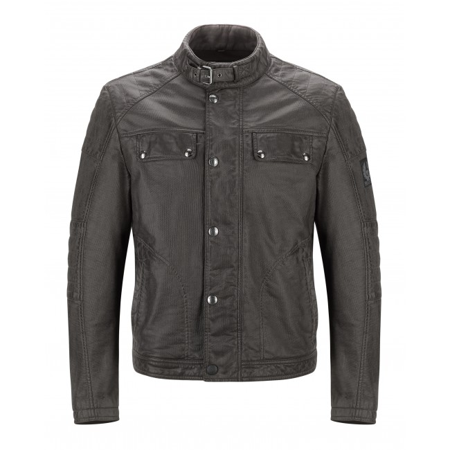 Blouson BELSTAFF GLEN VINE BURNISHED Marron